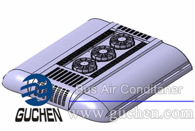EZDS-03 bus air conditioner for all-electric  buses