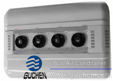 EZDS-06 double air return all electric bus air conditioner